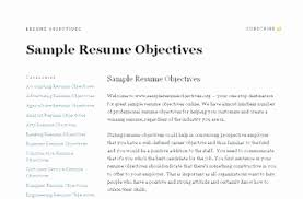 objective of a resume. 44 Beautiful Objective Resume Examples Photograph RESUME TEMPLATES