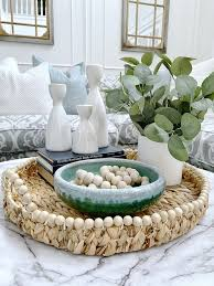 style coffee table decor for spring