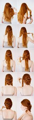 Hairstyles For Wedding Step By Step Wedding Hairstyles For Medium