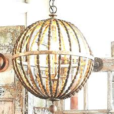 chandeliers wooden bead chandelier wood beaded shades gold