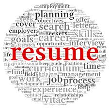 Resume Writing Clipart