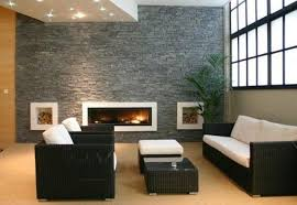 mesmerizing images of living room decoration with various stone living room wall ture of