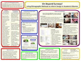 on beyond surveys using ethnographic methods to inform design in academic libraries