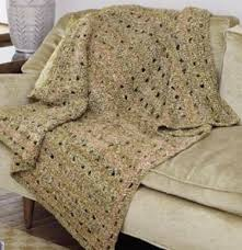 Easy Crochet Afghan Patterns Beauteous Easy Openwork Crochet Afghan Pattern