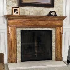 birch wood fireplace mantels