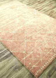 rose area rugs dusty rug pink wool bungalow sepe