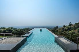 infinity pool house. Infinity Pool House To Offer An Experience In Urban Context Of Mumbai | Shroffleon Designs - The Architects Diary R