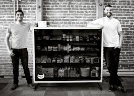 How To Put Vending Machines In Stores Beauteous Vending Machine Startup Hopes To Put Bodegas Out Of Business Boing