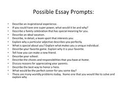 writing prompts essay prompt nirop isee writing class