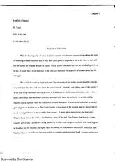 battle royal essay scanned by camscanner scanned by camscanner 2 pages realism of television essay
