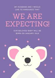 Ecard Baby Announcement Magdalene Project Org