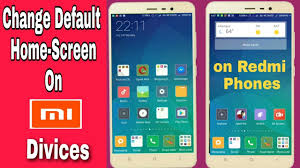 HOW TO SET DEFAULT HOME SCREEN IN REDMI NOTE 3