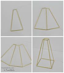 diy glass and himmeli pendant light