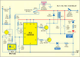 electrical miracles mains supply failure alarm circuit diagram mains supply failure alarm circuit diagram