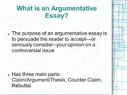 what is a claim in an argumentative essay argumentative claims the argumentative essay introducing argument the counterclaim what is an argumentative essay the purpose of an