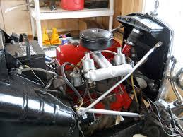 bruce bodemer s mg td tempus fugit garage mg td engine ps