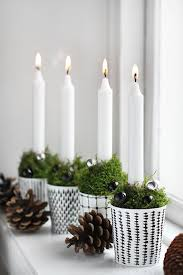 Candle Advent // 33 The Most Alluring DIY Scandinavian Christmas Decoration  Ideas