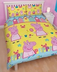 Peppa Pig 'seaside' Reversible Rotary Double Bed Duvet Quilt Cover ... & Peppa Pig 'seaside' Reversible Rotary Double Bed Duvet Quilt Cover Set ... Adamdwight.com