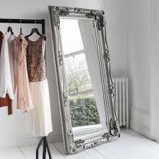 floor mirror. The Grande Dame Baroque Floor Mirror