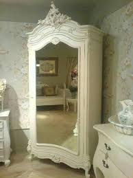 white wood wardrobe armoire shabby chic bedroom. White French Mirrored Armoire// Pinned By Dauphine Magazine, Curated By\u2026 Wood Wardrobe Armoire Shabby Chic Bedroom U