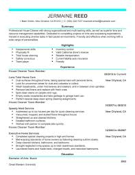 cleaner resume doc mittnastaliv tk cleaner resume 24 04 2017