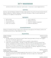 Legal Assistant Resume Paralegal Legal Assistant Resume Templates