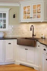 Apron Front Kitchen Sink White The 25 Best Ideas About Copper Farm Sink On Pinterest Farm Sink