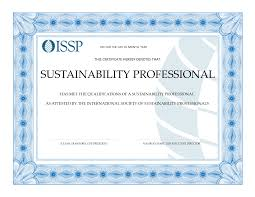 webinar issp sustainability professional certification info as issp moves forward our professional certification program for sustainability