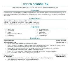 Nursing Resume Objectives Registered Nurse Resume Objective Nursing Resume Objective 100 Nurse 50