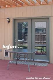 glass patio table makeover glass patio table makeover from making the world cuter