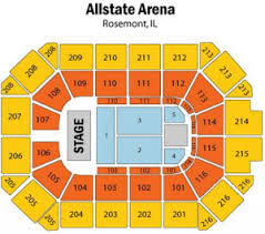 Allstate Arena Hockey Seating Chart Allstate Arena Tickets 2017