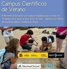 Resultado de imagen de campus científico de verano