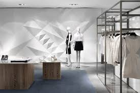 contemporary articulated drywall by burdifilek at galleria luxury hall west seoul south korea
