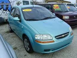 2006 Chevrolet Aveo 119 507 Miles 4 990 Chevrolet Aveo Chevrolet Sedan