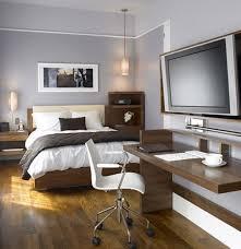 masculine bedroom with office design office bedroom design