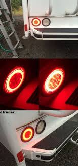 rv trailer plug wiring diagram non commercial truck fifth glolight led trailer tail light stop tail turn submersible 21 diodes round red lens optronics trailer lights stl101rfb