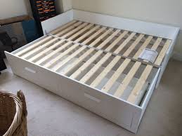 ikea brimnes bed. Ikea Brimnes Bed Assembly Flatpack Monkey Of An On Inspiring Bedroom D