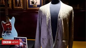 <b>Kurt Cobain</b> cardigan sells at auction for $334,000 - BBC News