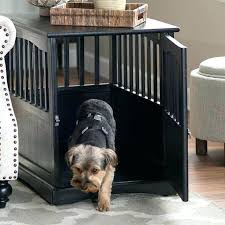 fancy dog crates furniture. Fancy Dog Crates Furniture Crate End Table Decorative Cage Stylish . E