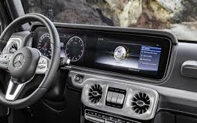 The lights on the dashboard display what systems are in use and they also highlight when one of those systems is not working as it should. 2019 Mercedes G Class Interior 5 Things To Know