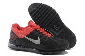 nike running shoes for men black and red. nike air max 2013 mens black silver red running shoes for men and