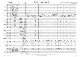 Round Midnight Chart Round Midnight Arr Myles Collins J W Pepper Sheet Music