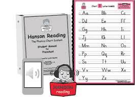 Chart 1 Alphabet Names Hanson Reading