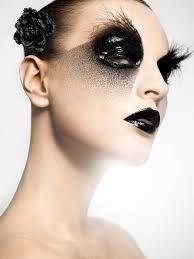 crazy gothic makeup jpg