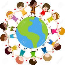 Terre Dessin Enfants Et Monde Illustrationllll L