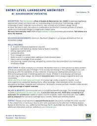 Landscaping Objective Resume Sample Landscape Architecture Resume Templates RESUME 18