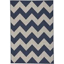 finesse navy chevron rug
