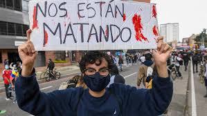 Gobierno y manifestantes miden fuerzas en un día político clave en Colombia