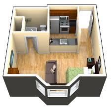 420 studio apartment floorplan - Google Search