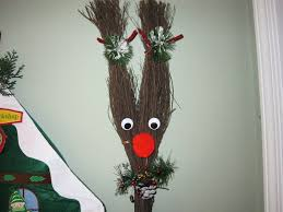 cinnamon broom decorating ideas hey paw whats for supper christmas rudolph the red nosed